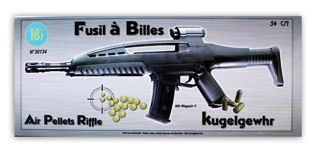 Kugelgewehr max 0,08 Joule - ca 54 cm