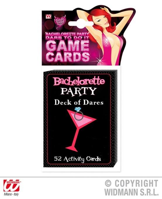 Spielkarten 52 Blatt Junggesellinnenabschied