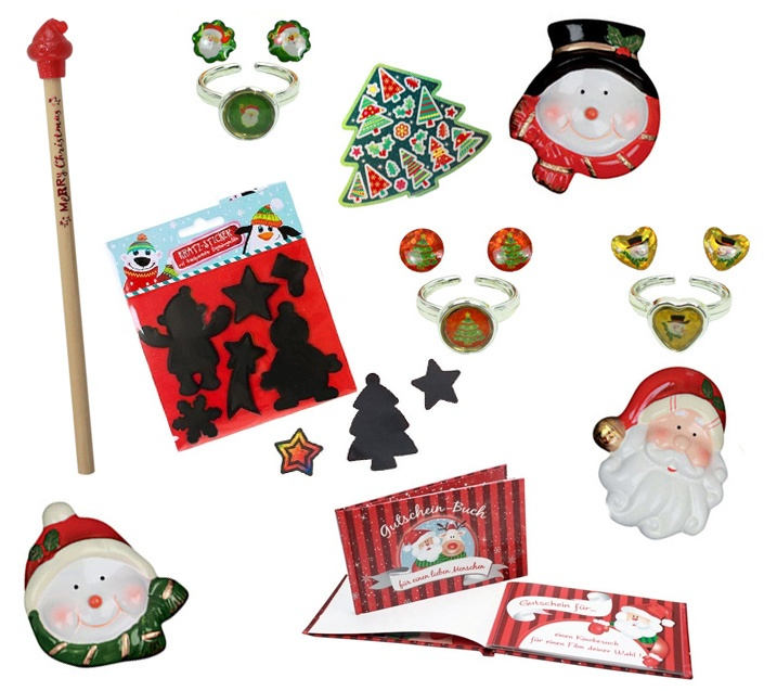 Weihnachts Giveaway Set - mindestens 50 Teile
