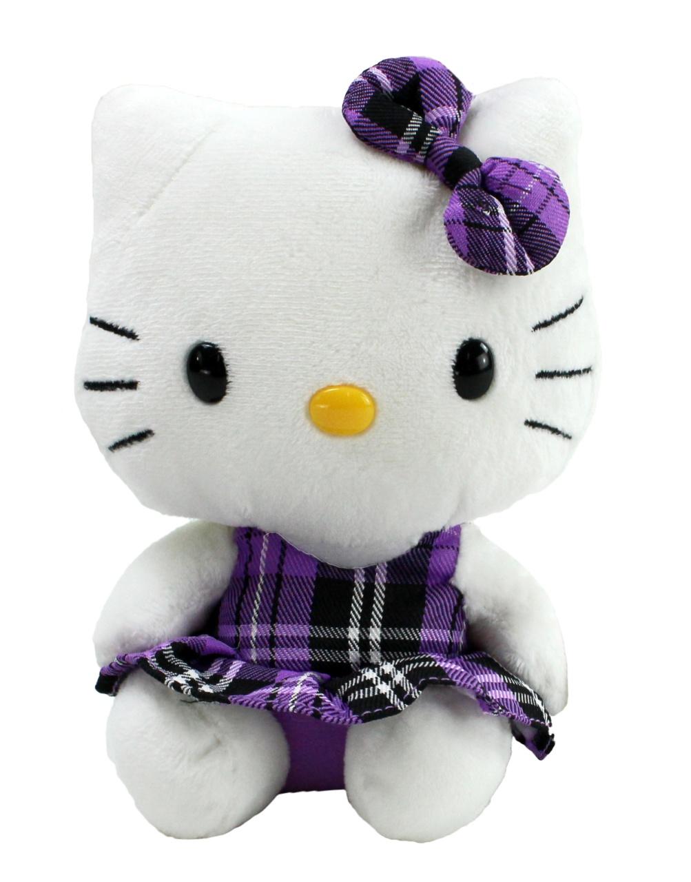 Ty Beanie Babies Hello Kitty mit Schottenrock ca 16,5cm