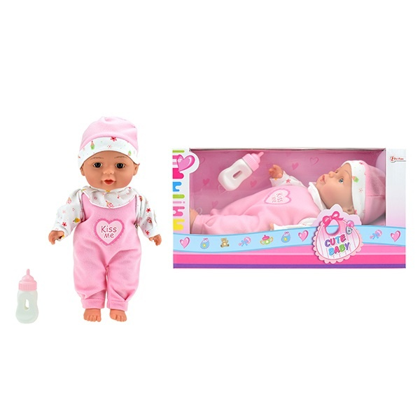Babypuppe liegend ca 30 cm