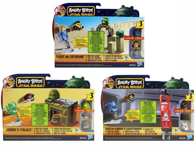 Hasbro Star Wars 3-fach sortiert Angry Birds Strike