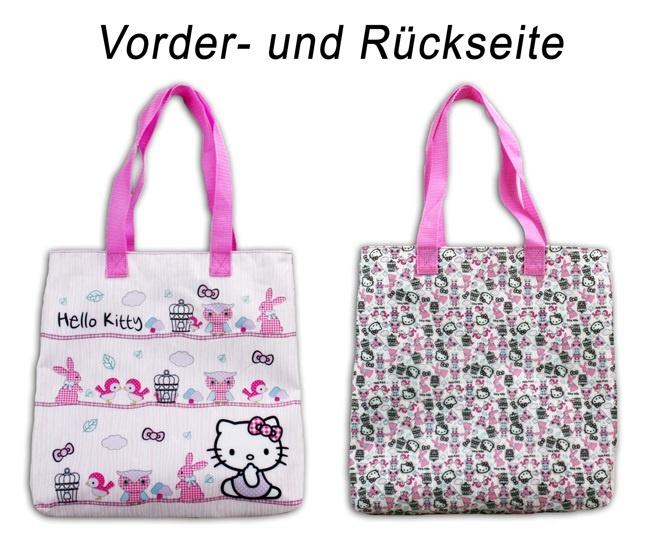 Hello Kitty Woodland Shopping Tasche - ca 33x32x6cm