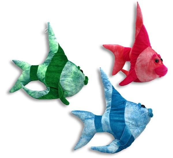 Fisch mit großen Augen 3-fach sortiert - ca 49 cm