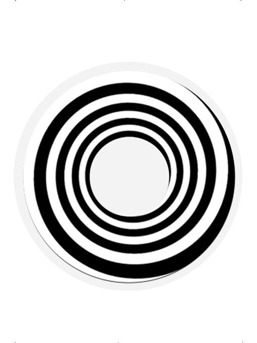 Kontaktlinsen Black Spiral 1 Tages Linsen