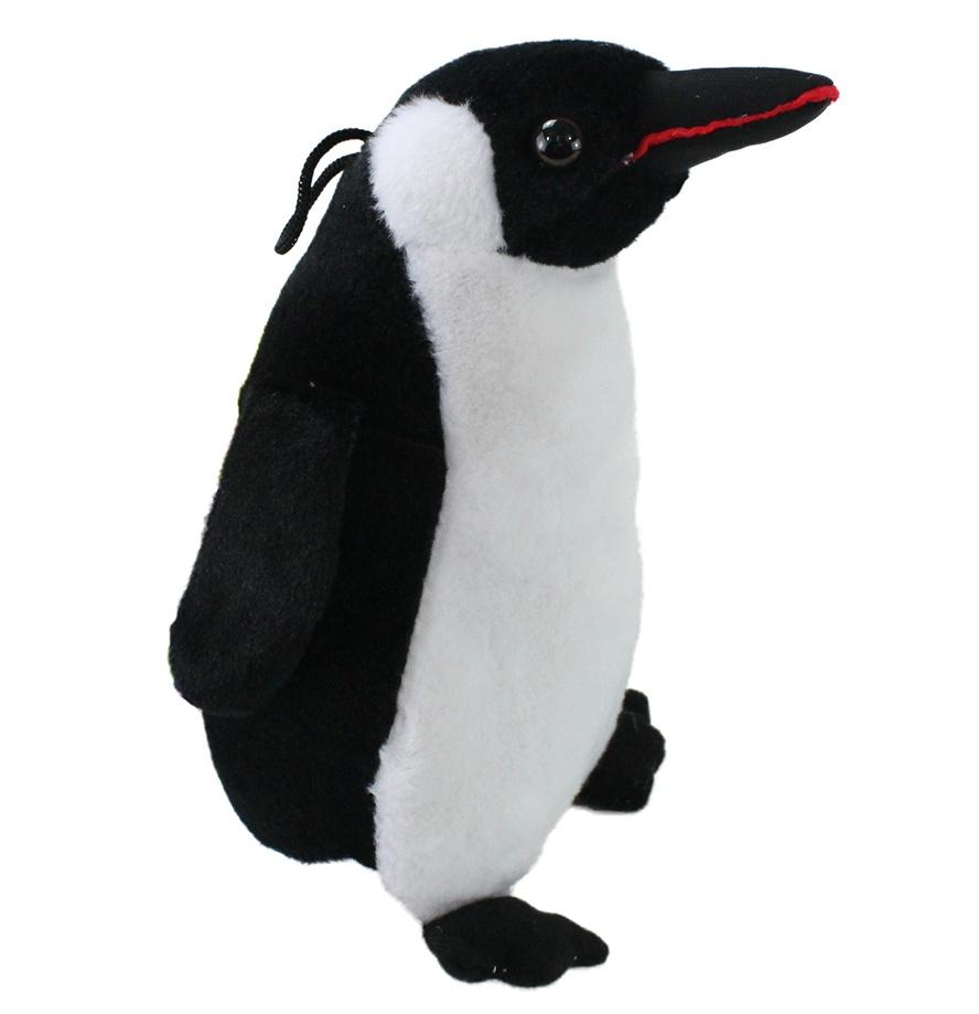 Pinguin stehend, naturgetreu, Kunststoffaugen ca 23 cm