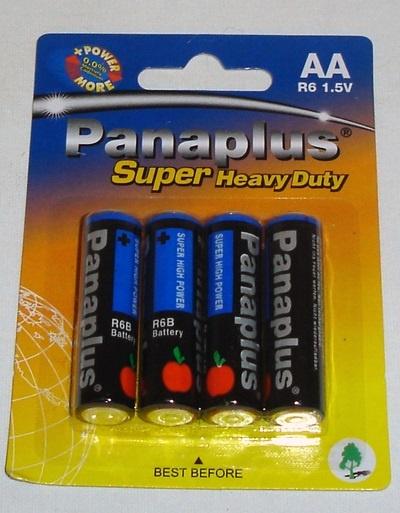Batterie  AA -Mignon R6