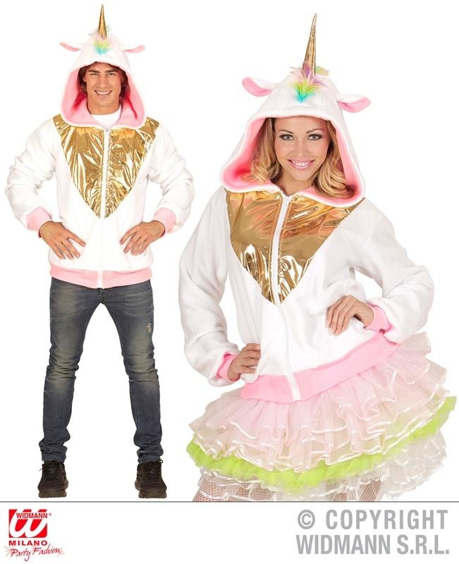 Einhorn Fantasy Jacke mit Kapuze S/M