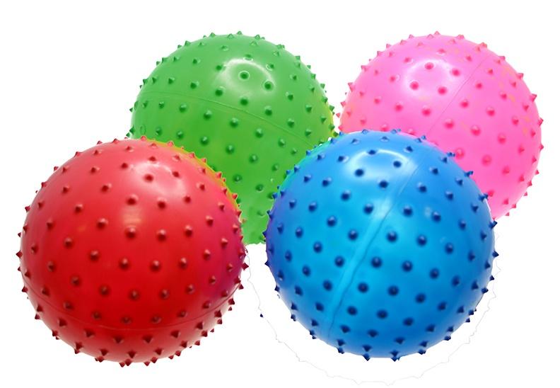 Noppenball 4-farbig sortiert ca 15cm  Ø