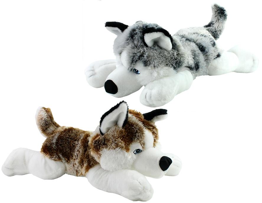 Husky liegend 2-fach sortiert - ca 63cm