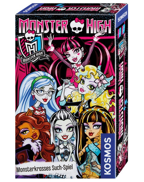 KOSMOS Monster High Suchspiel Reisespiel in Box ca 18x11x3,5