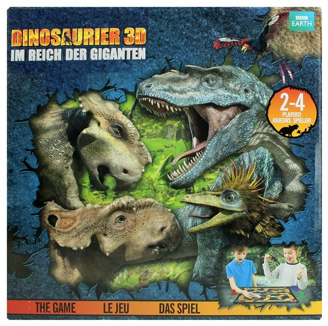 WWD Walking mit Dinosaurs - Das Spiel - ca 27x27x5cm