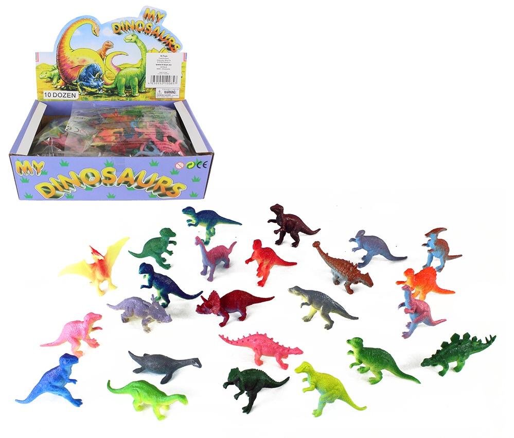 Dinosaurier 24-fach sortiert - ca 5-7cm