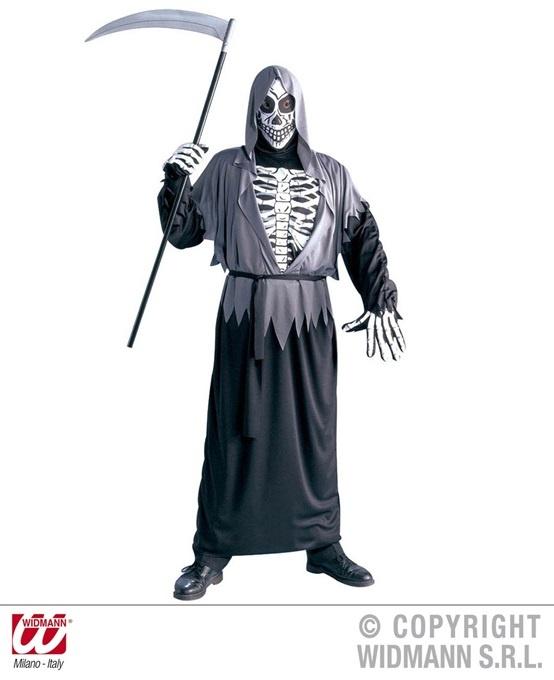 Kostüm Sensemann Größe XL