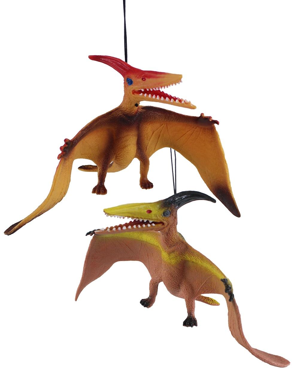 Flugsaurier Pteranodon Dinosaurier 2-farbig sortiert ca 30cm
