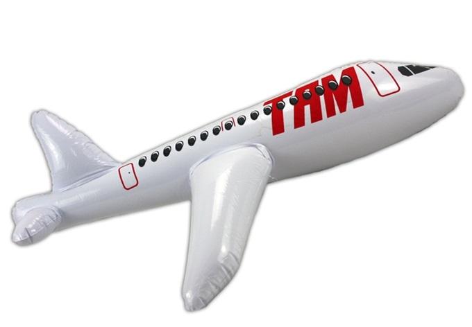 Aufblas Flugzeug - ca 60cm