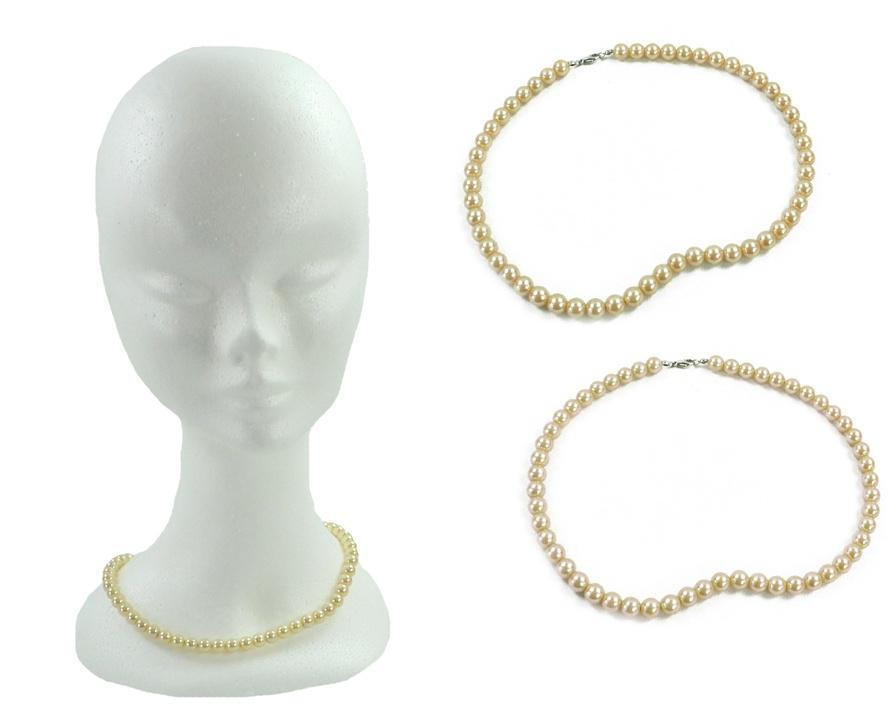 Perlenkette farbig sortiert