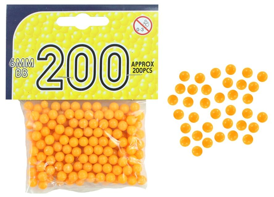Kugelmunition 200 Stück im Beutel