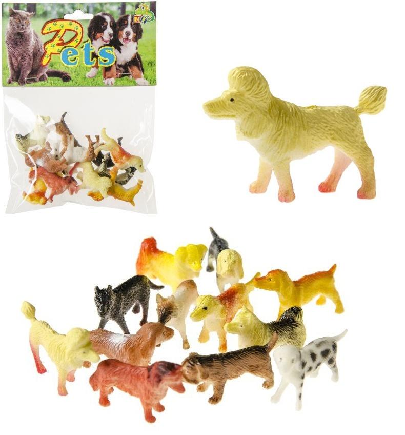 Hunde sortiert im Beutel - ca 4,5cm