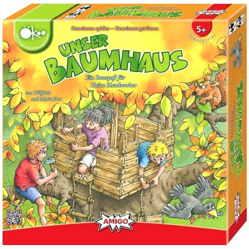 Spiel AMIGO Unser Baumhaus in Box ca 26,5x26,5x5cm