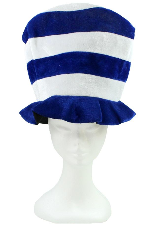 Fan Mütze blau weiß