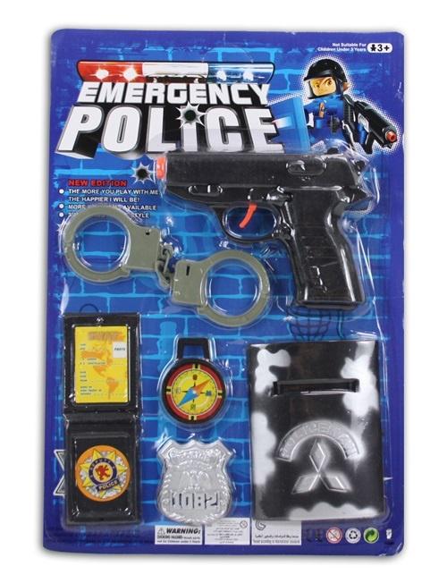 Polizeikarte 6tlg - ca 38x26cm