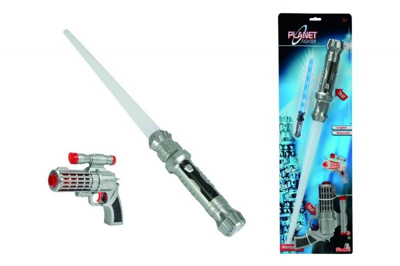 SIMBA Laserpistole und Schwert