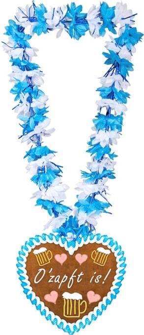 Hawaiiblumenkette OZapft is! - ca 100cm