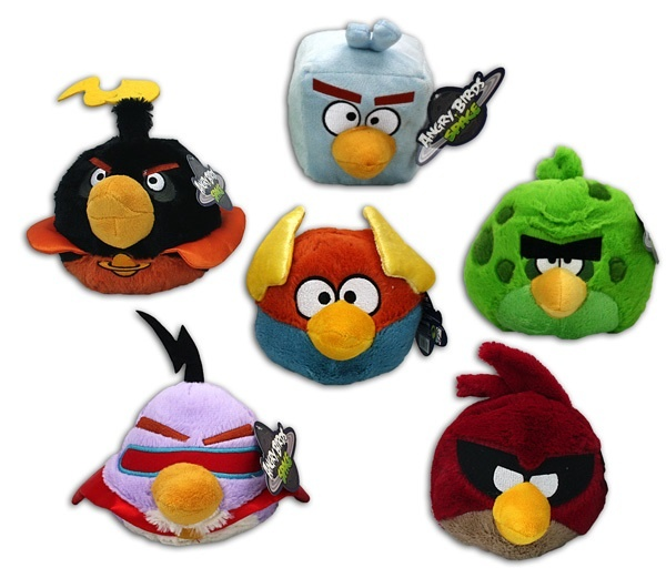 Angry Birds Space 5-fach sortiert - ca 18 cm