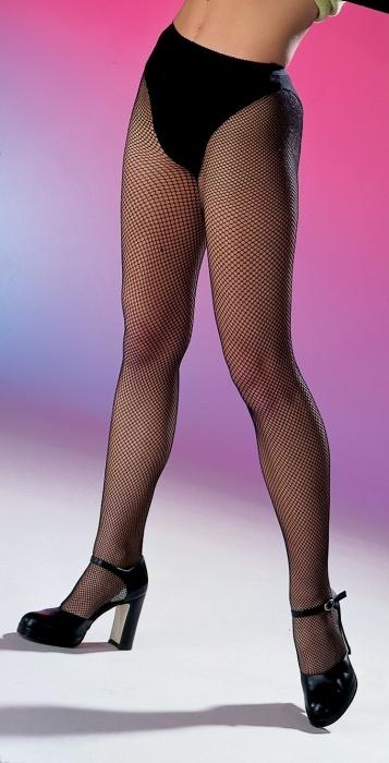 Netzstrumpfhose mit Slip, schwarz