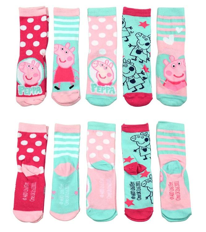 Socken Peppa Pig 5er Pack Größe 27/30