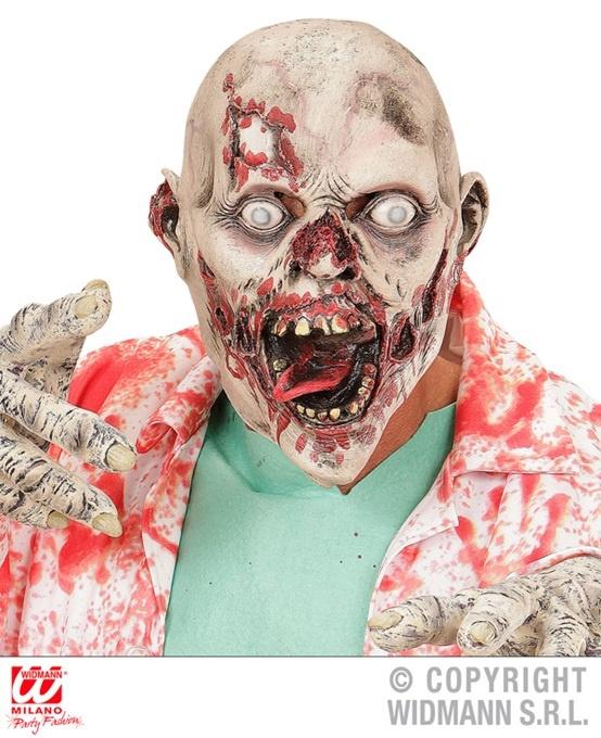 Maske Zombie aus Latex