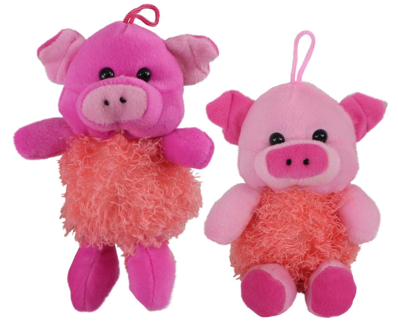 Schwein 2-farbig sortiert ca 20 cm