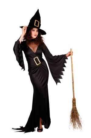 Kostüm - Hexe elegant superluxe Größe M