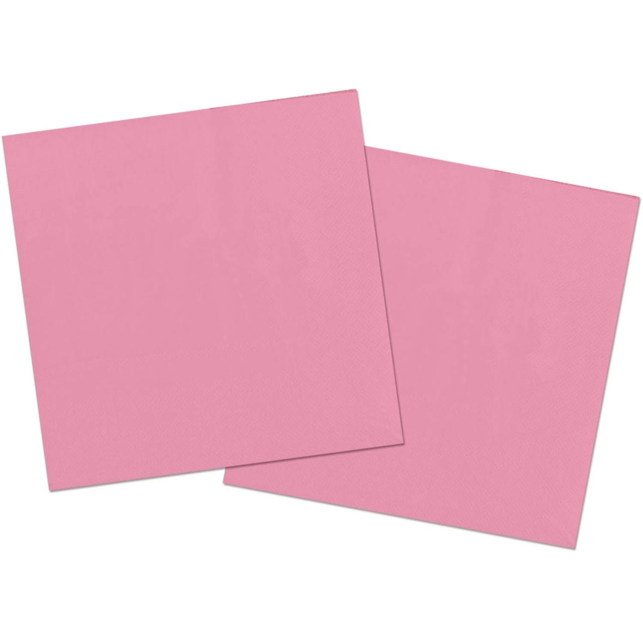 Servietten rosa 3 lagig ca 33x33 cm 20Stück im Pack