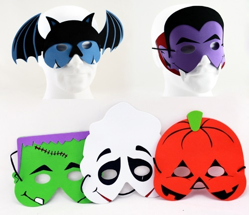 Die Maske für die Person mit dem Amylum für den Winter