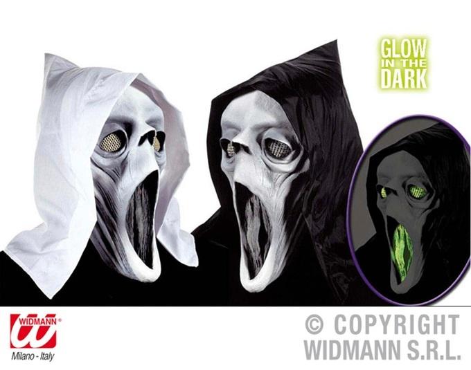 Maske - Geist mit Kapuze-