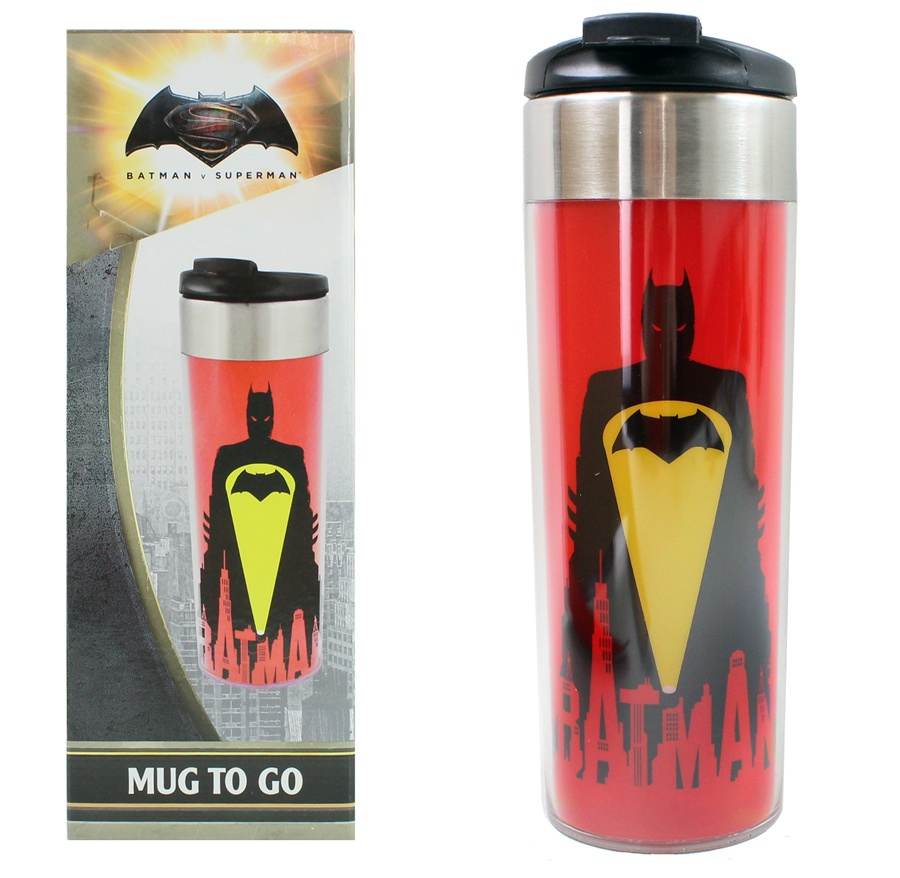 Batman vs. Superman Coffee To Go Becher  ca 400 ml