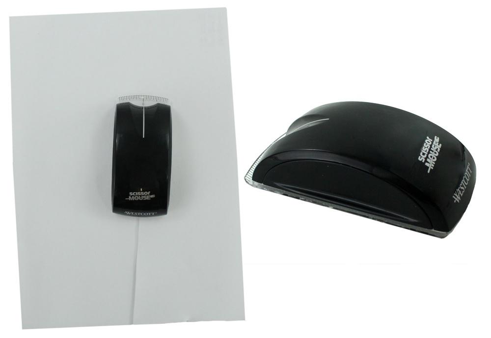 Schneidemaus WESTCOTT Scissor Mouse schwarz - ca 11,5cm