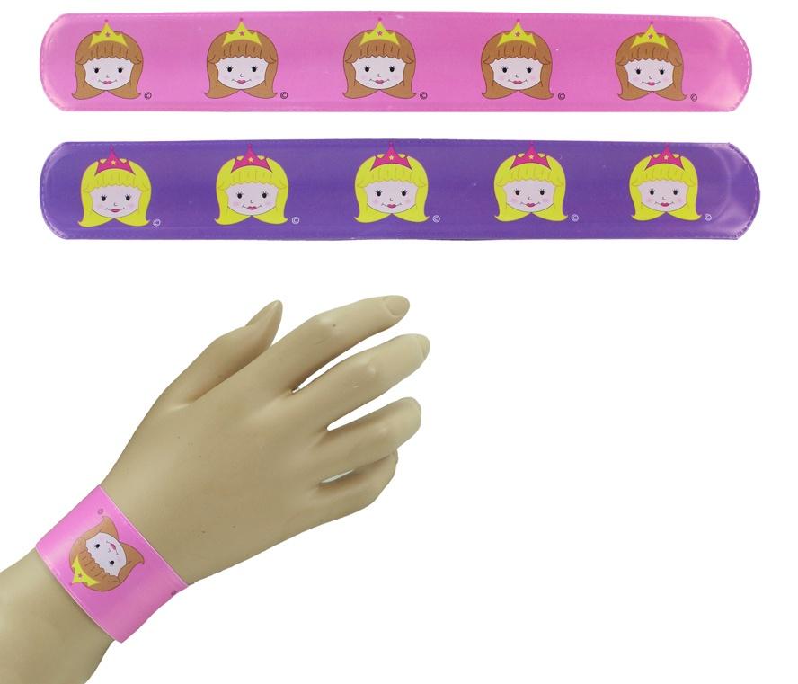 Klatscharmband Schnapparmband Prinzessin - ca 22cm