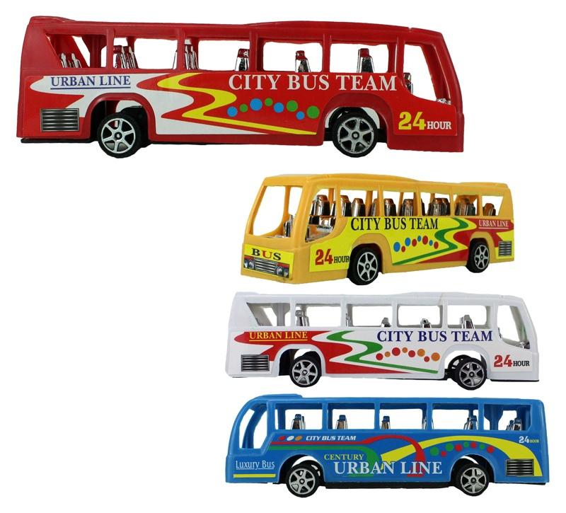 Reisebus 3 fach sortiert ca 15 cm