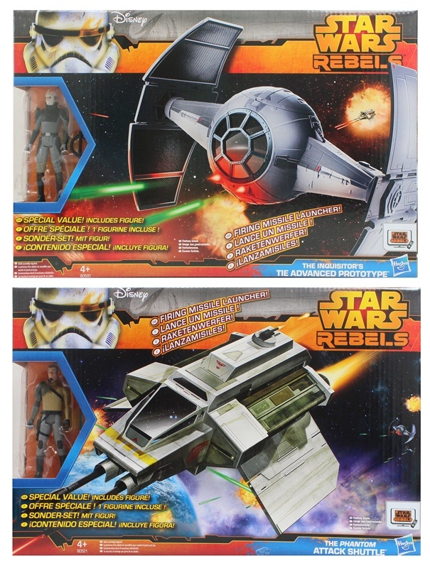 HASBRO Star Wars Rebels Figure and Vehicle