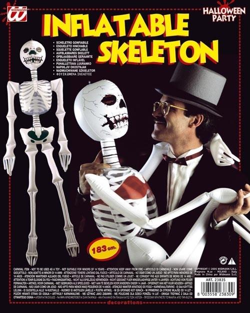 Skelett aufblasbar sortiert - ca 183cm