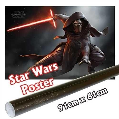 STAR WARS Poster Episode 7 - Kylo Ren Crouch - ca 91x61cm