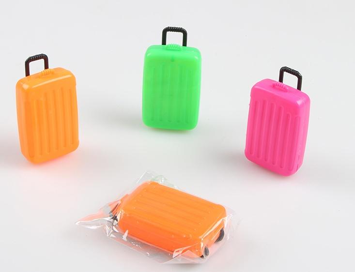 Trolley Koffer Aufbewahrungsbox - ca 8x3cm
