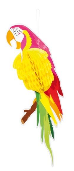 Papagei Dekoration ca 50 x 26 cm