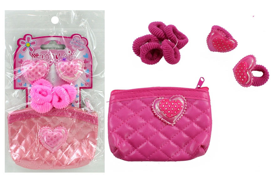 Tasche Mädchentasche 2-fach sortiert mit Zubehör