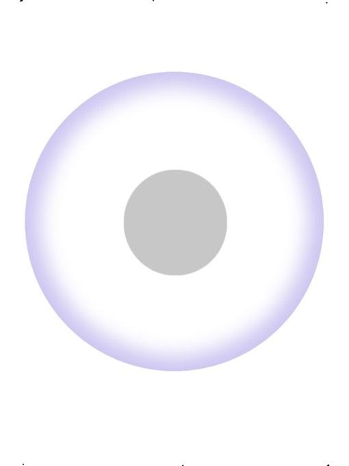 Kontaktlinsen UV-weiß 1 Tages Linsen