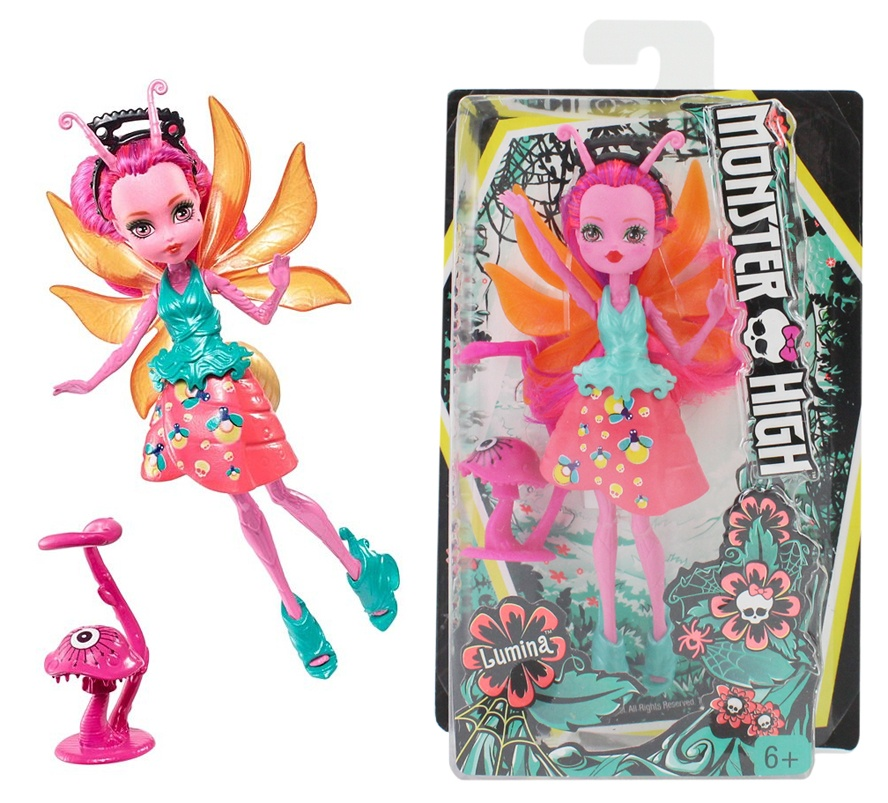 Mattel Monster High Puppe Lumina FCV50