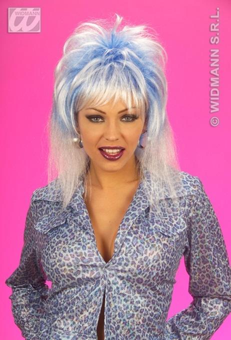 Perücke - Sheila blau